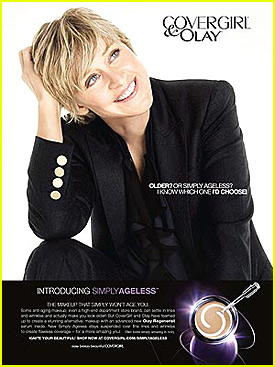 ellen degeneres cover girl