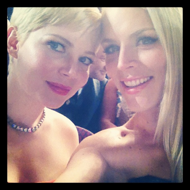 michelle williams y bussy philips