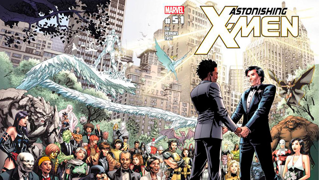 Astonishing X-Men Boda