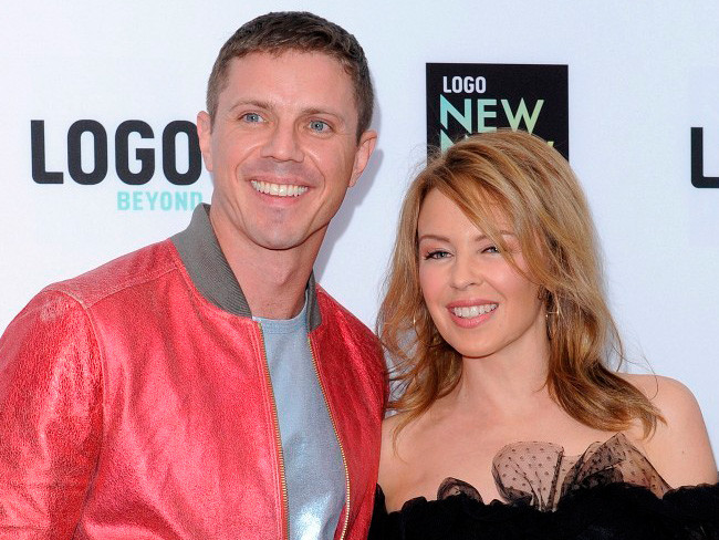 Jake Shears y Kylie Minogue