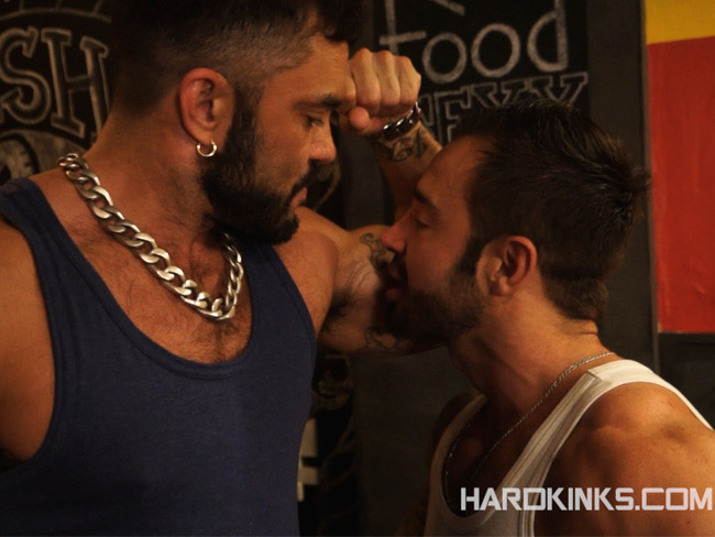 Martin Mazza y Rogan Richards