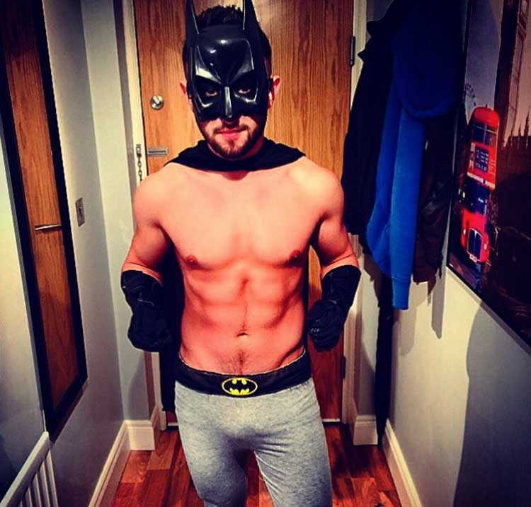 Batman sexy en Halloween