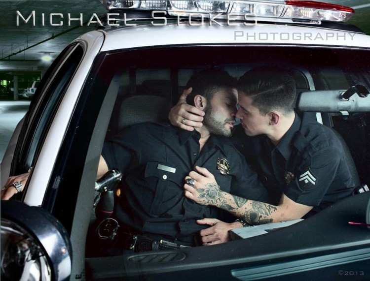 Gay Kiss Polices