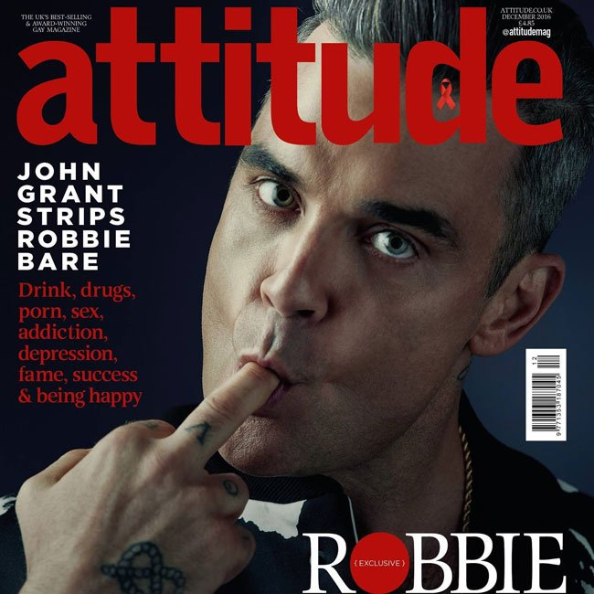 Robbie Williams Desnudo