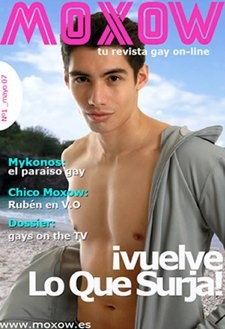 Moxow: la nueva revista gay