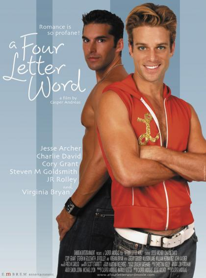 Cartel de 'A Four Letter Word'