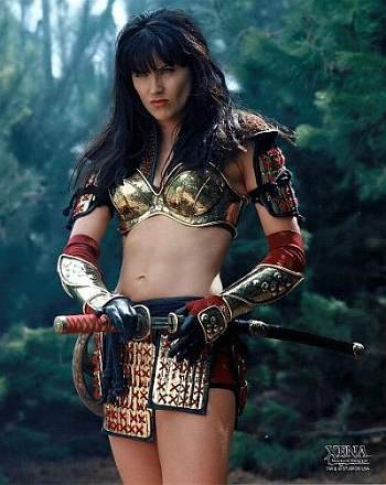 Lucy Lawless interpretandoa a Xena