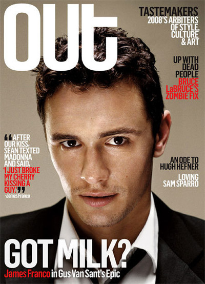 james franco portada de Out