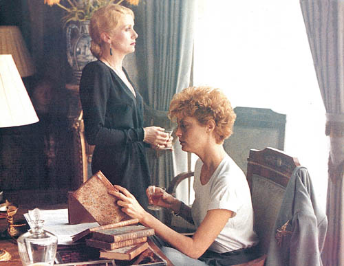catherine deneuve y susan sarandon en The Hunger el ansia