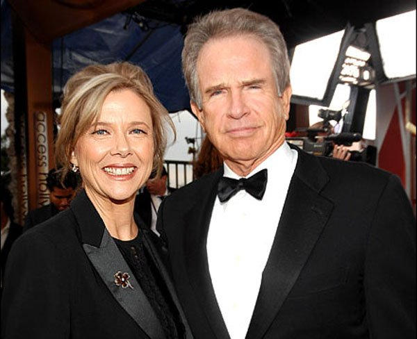 Annette Bening y Warren Beatty