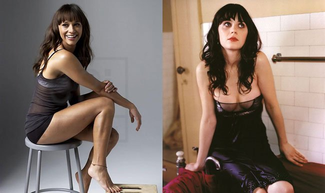 zooey deschanel y rashida jones