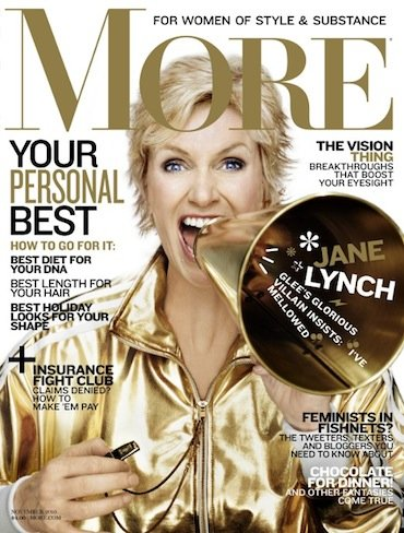 jane lynch more magazine