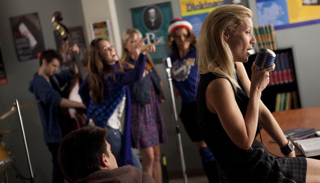 Gwyneth Paltrow en Glee