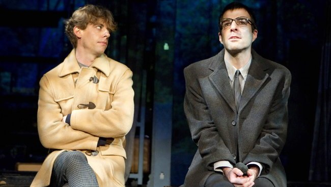 Christian Borle y Zachary Quinto