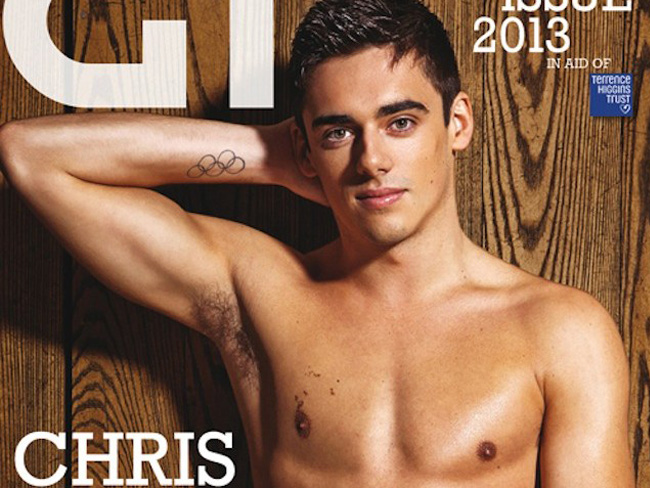 Chris Mears portada Gay Times