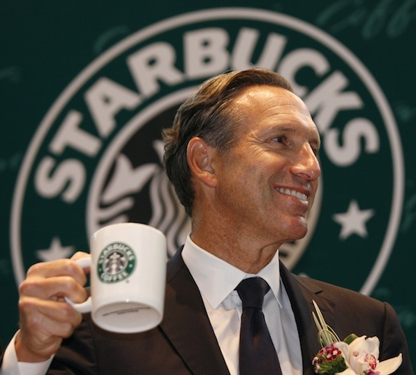 Howard Schultz, CEO de Starbucks