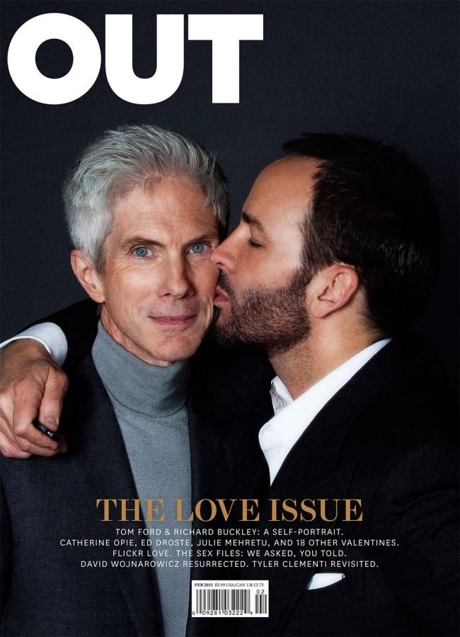 Tom Ford y Richard Buckley