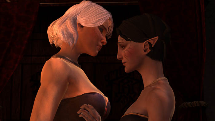 Dragon Age romance homosexual