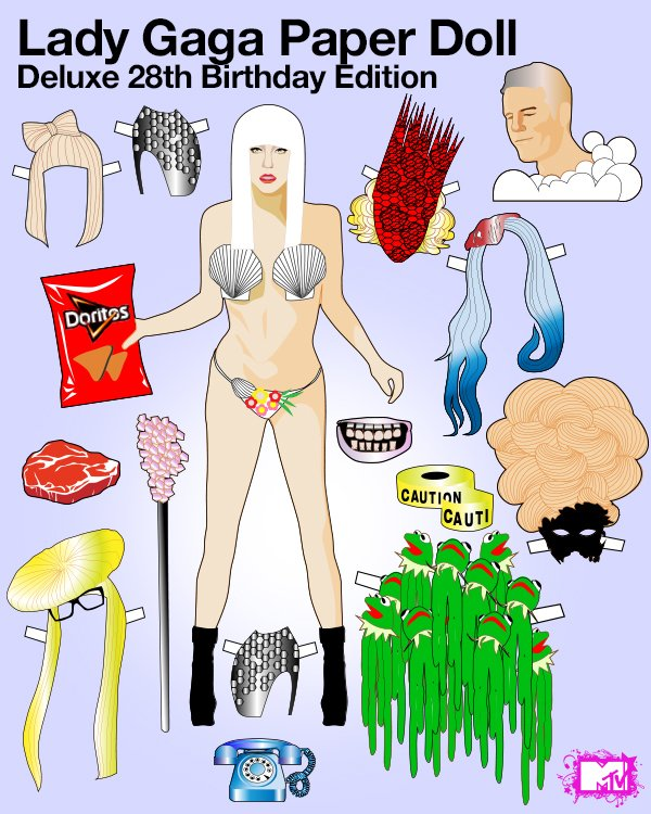 lady-gaga-birthday-paper-doll