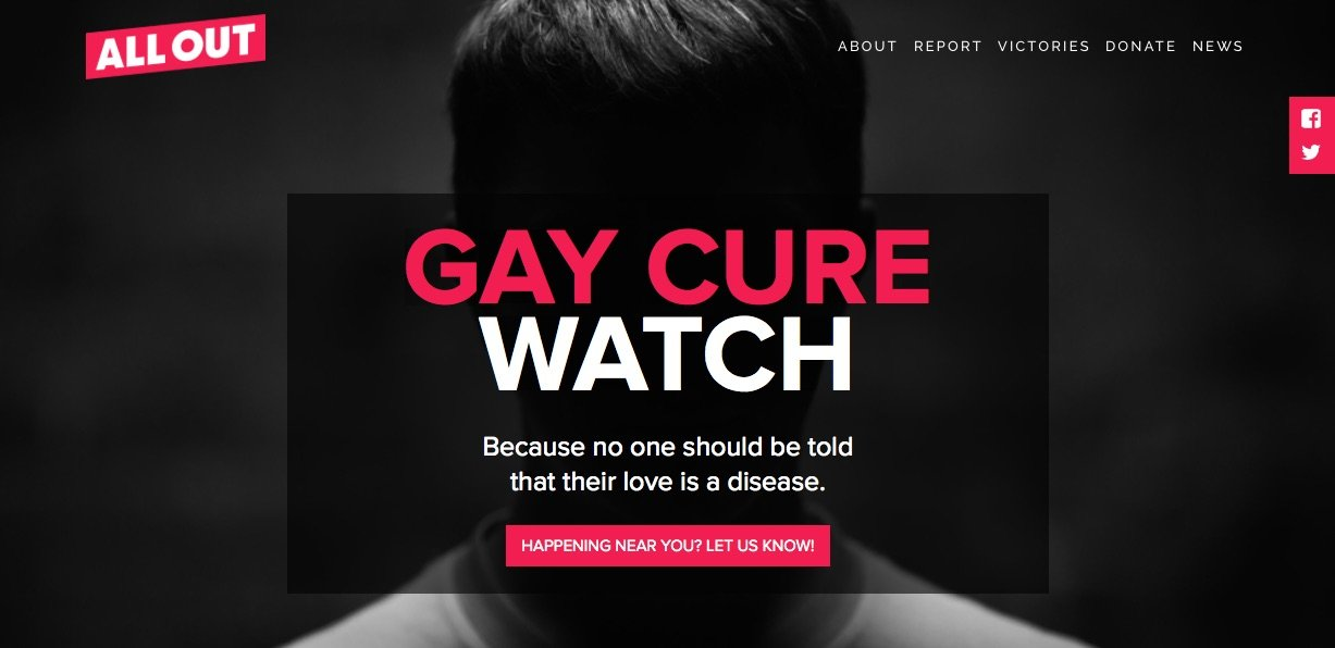 Gay Cure Watch