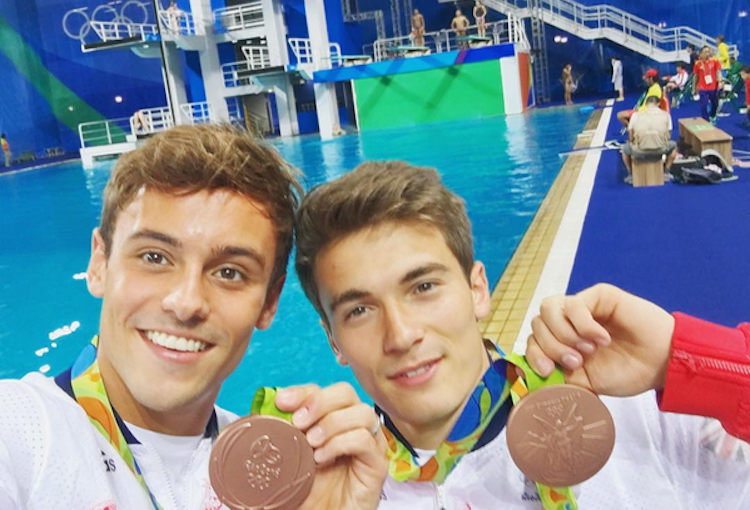Tom Daley medalla de bronce