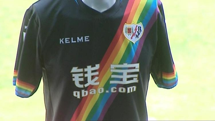 rayo vallecano arcoiris